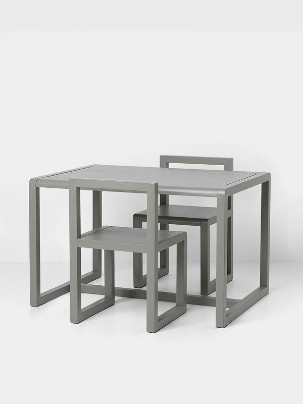 silla infantil architect gris littlesambaqui. Black Bedroom Furniture Sets. Home Design Ideas