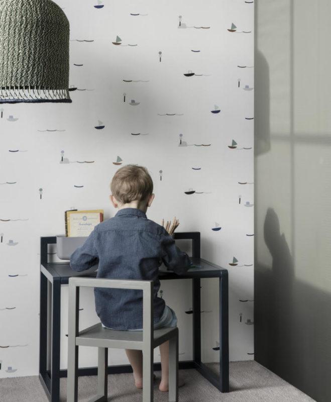 Silla Infantil Architect Gris