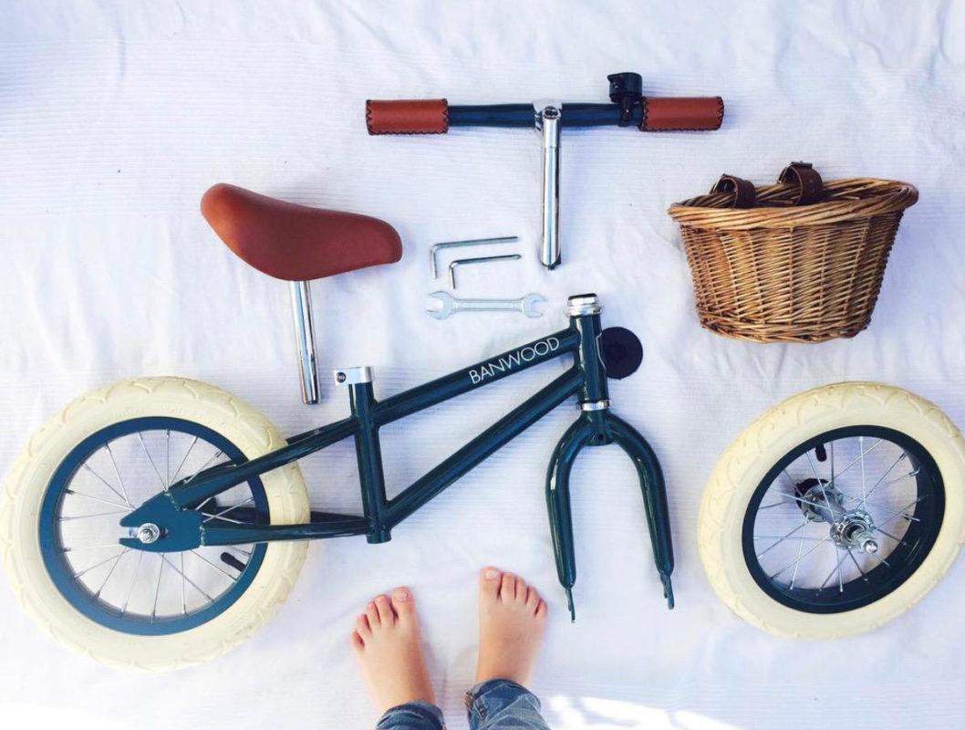 Bici sin pedales Banwood. Imagen vía @carmonidei