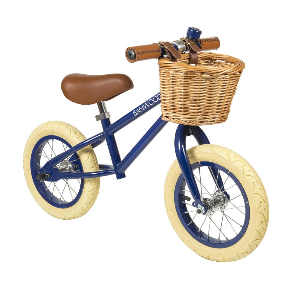 Bici sin Pedales de Acero First Go Azul