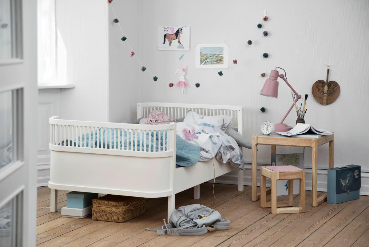 Cama Infantil Extensible Junior & Grow Blanca