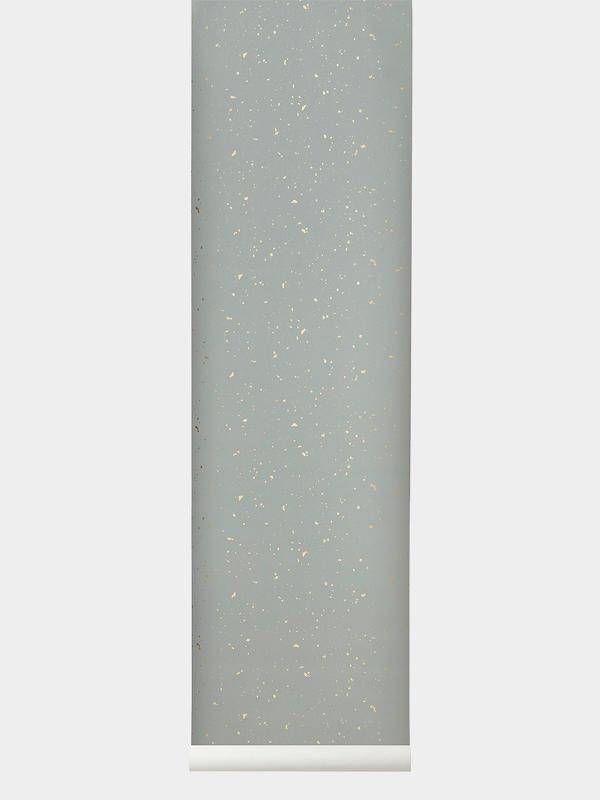 Papel Pintado Infantil Confetti Gris