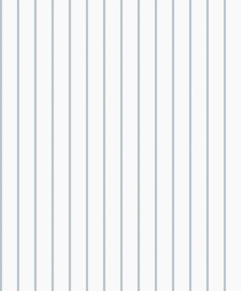 Papel Pintado Rayas Finas Emilia Azul Claro
